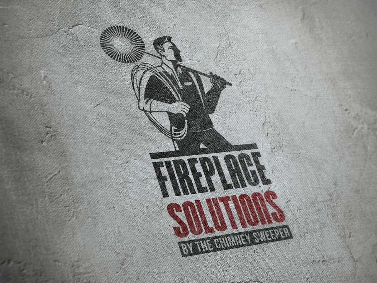 Logo Design, Identity Design, Graphic Design for Fireplace Solutions Los Angeles