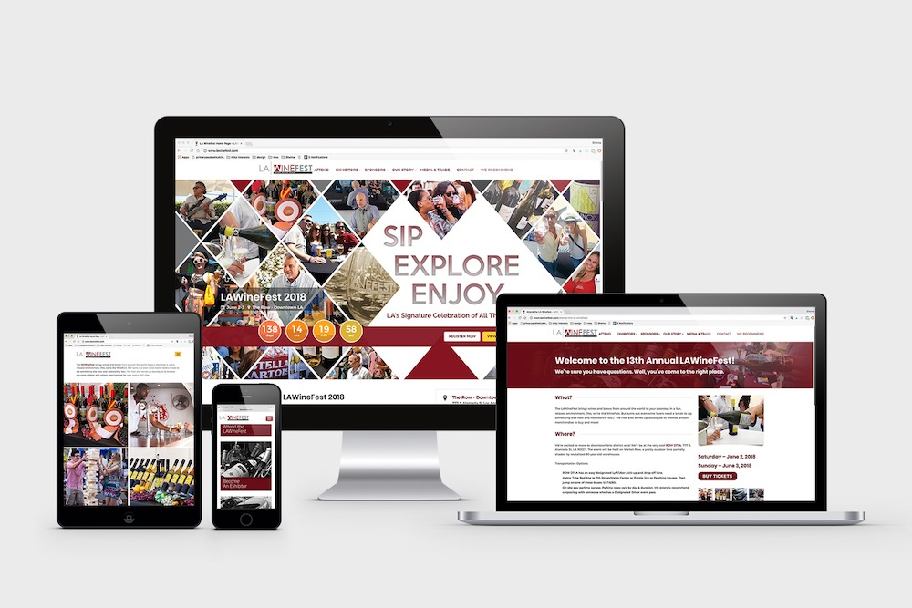 Responsive Website Design, Graphic Design, Digital Branding