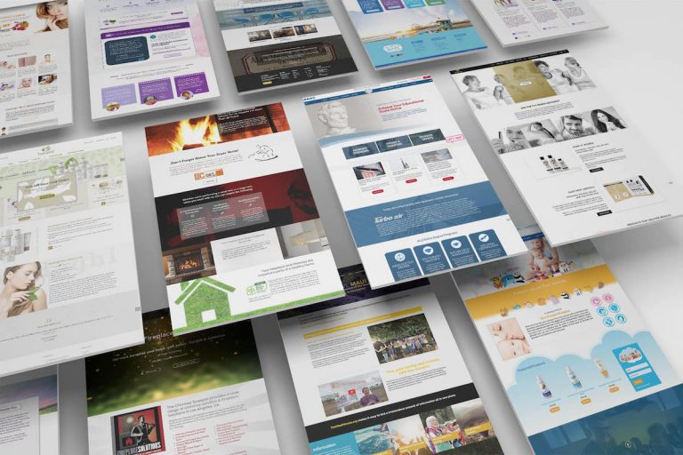 Website Design and Development examples by Visualab