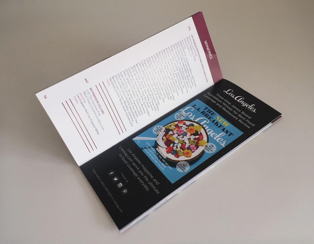 Graphic design, marketing collateral design, Event booklet
