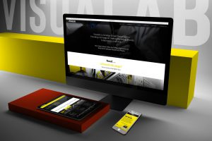 New website for Visualab Creative Design Agency
